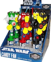 NOVELTY M&M STAR WARS FAN/CNDY 12CN