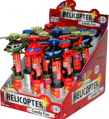 NOVELTY LITE UP HELICOPTER FAN BX12