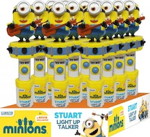 NOVELTY MINNIONS TALKER BANANA BX12