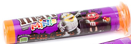 M & M HALLOWEEN MINI TUBE K. S.