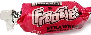TOOTSIE FROOTIES STRAWBERRY BAG/360