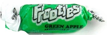 TOOTSIE FROOTIES GREEN APPLE BAG 360