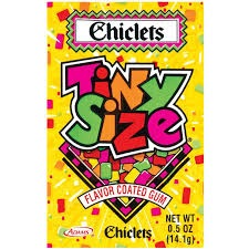 CHICLETS TINY SIZE BOX/20