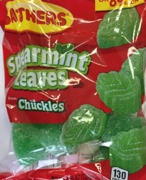 SATHERS SPEARMINT LEAVES 2/$1.50