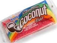 RAINBOW COCONUT BAR BOX/24