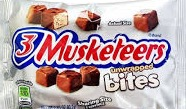 THREE MUSKETEERS BITES BOX/12
