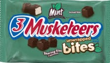 3 MUSKETEERS MINT KING SIZE