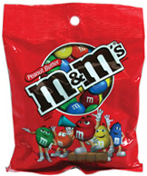 M & M PEANUT BUTTER PEG BOX/12