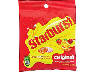 STARBURST 7.2 OZ PEG BOX/12