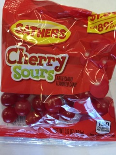 SATHERS CHERRY SOURS 2/$1.50