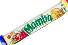 MAMBA FRUIT CHEW SOUR BOX/24