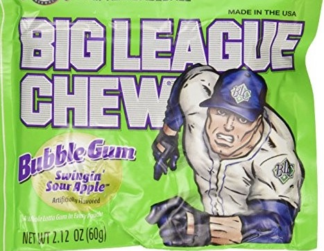 BIG LEAGUE CHEW APPLE BOX/12