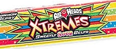 AIRHEADS XTREMES SOUR RBOW BERRY BOX/18