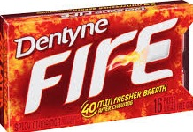 DENTYNE FIRE SPLIT 2 FIT CINNAMON