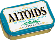 ALTOIDS WINTERGREEN BOX/12
