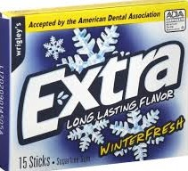 EXTRA WINTERFRESH SLIM PACK
