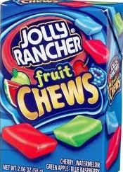JOLLY RANCHER FRUIT CHEW BOX/12