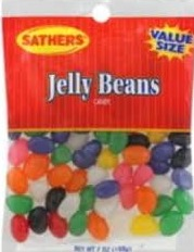 SATHERS JELLY BEANS 12/7OZ