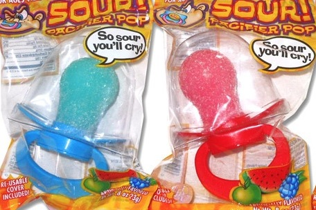 PACIFIER POP SOUR BOX/12