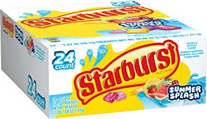 STARBURST SUMMER SPLASH BOX/24