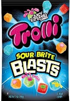 TROLLI SOUR BRITE BLASTS 12/4.25OZ