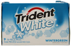 TRIDENT WHITE SPLIT 2 FIT WINTRGRN