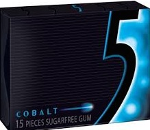 FIVE SF COBALT BOX/10