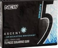 FIVE ASCENT GUM BOX/10