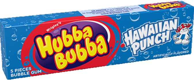 HUBBA BUBBA STRAWBERRY CRUSH BOX/18