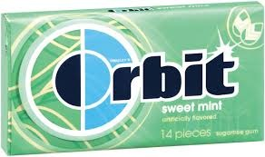 ORBIT SWEET MINT BOX/12
