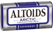 ALTOIDS ARCTIC MINT PEPPERMINT BX/8