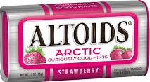 ALTOIDS ARCTIC MINT STRAWBERRY BX/8