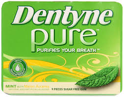 DENTYNE PURE MINT MELON BOX/10