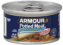 HORMEL SPAN POTTED MEAT SPREAD