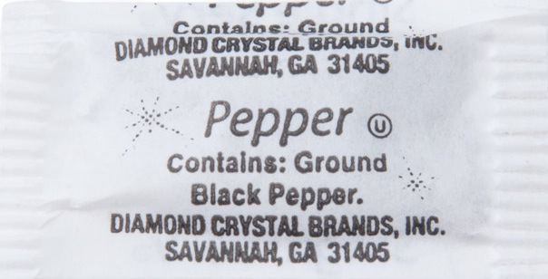 BLACK PEPPER PACKETS