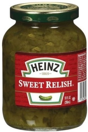 RELISH HEINZ SWEET 10 OZ