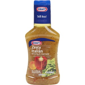 SALAD DRESSING KRAFT ITALIAN 8 OZ