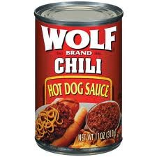 HOT DOG SAUCE WOLF 10 OZ