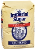 SUGAR IMPERIAL GRANULATED 4LB