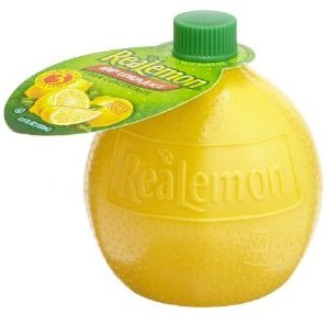 LEMON JUICE REALEMON PLASTIC 4.5OZ