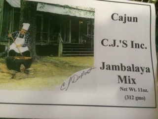CAJUN CJ'S JAMBALAYA MIX