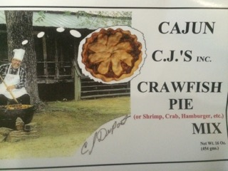 CAJUN CJ'S CRAWFISH PIE