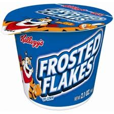 CEREAL CUP FROSTED FLAKES BOX/6