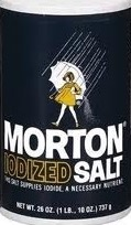 SALT MORTON IODIZED 26 OZ