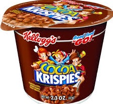 CEREAL CUP COCOA KRISPIES BX/6
