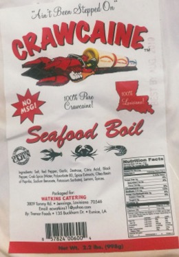 CRAWCAINE SEAFOOD BOIL 2.2 LBS