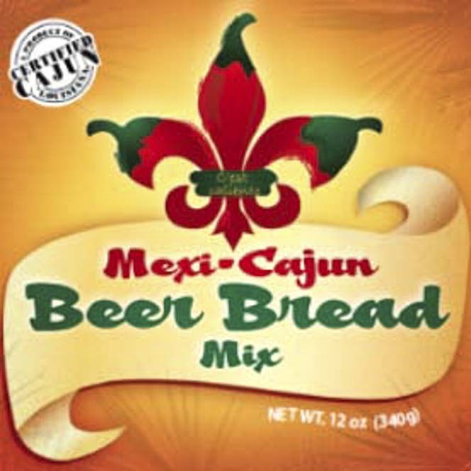 MEXI-CAJUN BEER BREAD MIX BOX/12