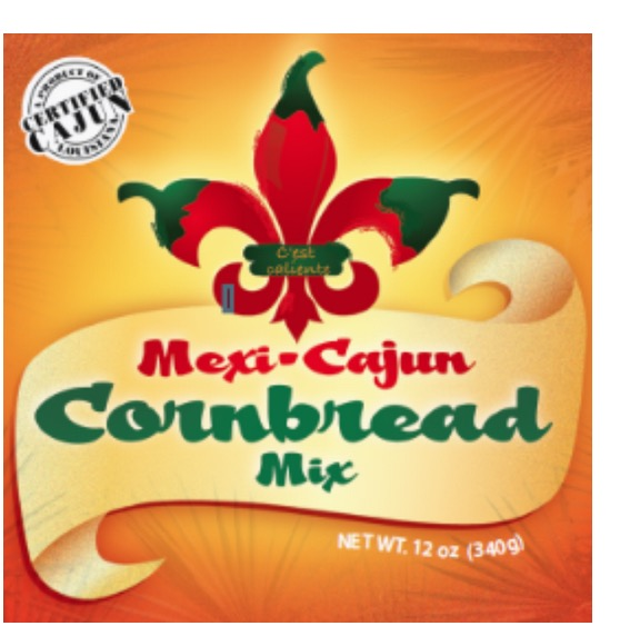MEXI-CAJUN CORNBREAD MIX BOX/12