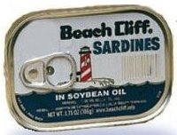 SARDINES IN OIL BEACHCLIFF 3.7 OZ