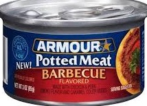 ARMOUR SANDWICH SPRD BBQ CHICKEN 10